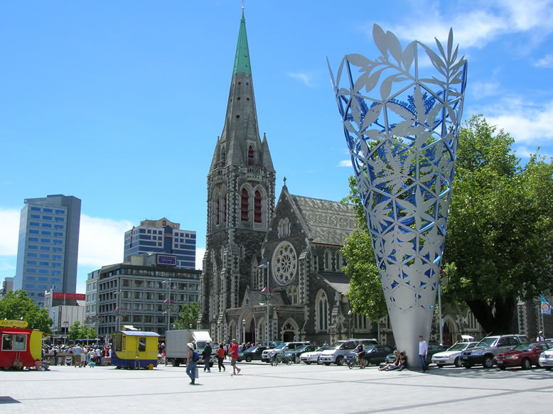 Christchurch New Zealand  city photos gallery : Traveling with travel brochures: Christchurch, New Zealand