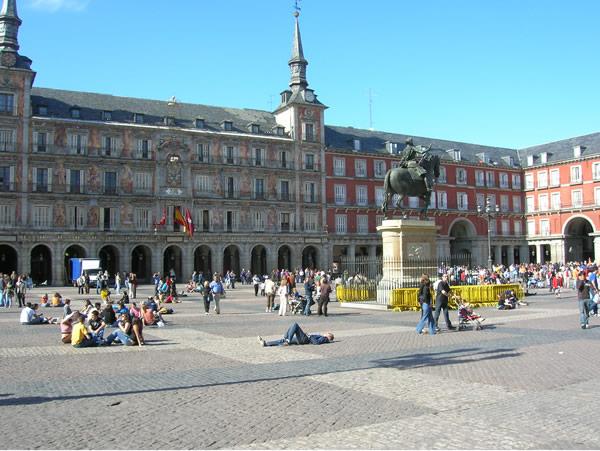 Vliegtickets; Madrid