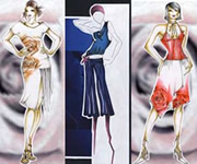Fashion design in Milan, Italy